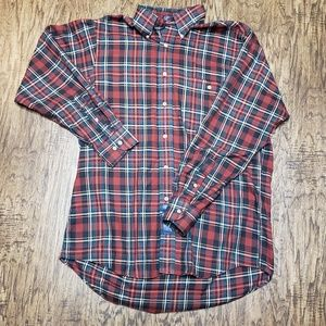 GH Bass and Co Plaid Longsleeve Shirt Mens Large